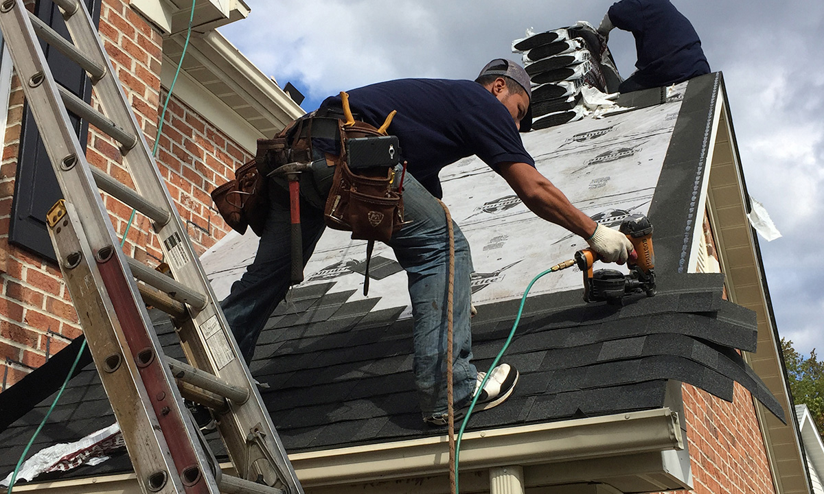 Contact Blue Ladder Roofing Company